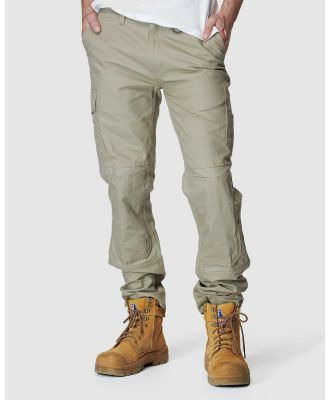 Elwood Workwear - Mens Utility Pant - Pants (Stone) Mens Utility Pant