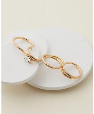 Emma Pills - All Nighter Ring - Jewellery (Gold) All Nighter Ring