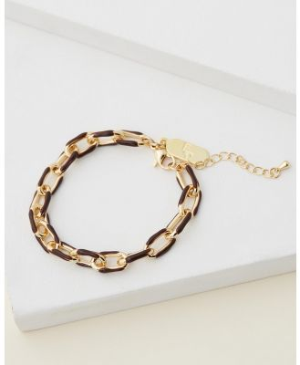 Emma Pills - Chain Link Bracelet - Jewellery (Chocolate) Chain Link Bracelet