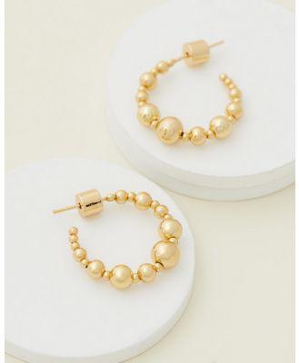 Emma Pills - Moonlight Hoops Small - Jewellery (Gold) Moonlight Hoops