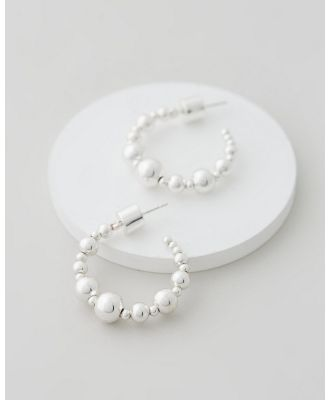Emma Pills - Moonlight Hoops Small - Jewellery (Silver) Moonlight Hoops