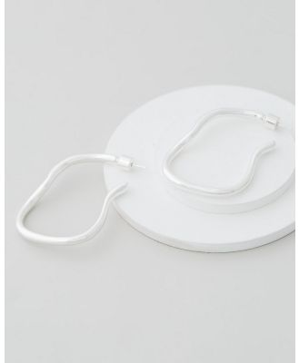 Emma Pills - Obsession Hoops - Jewellery (Silver) Obsession Hoops