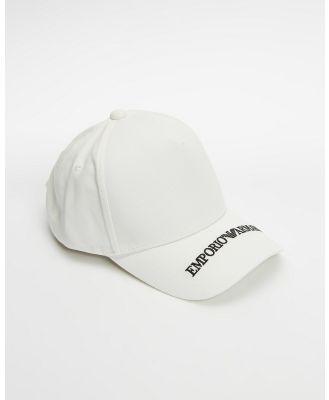 Emporio Armani - Cap - Headwear (White) Cap