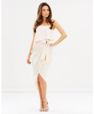 Esther Luxe - Fleur Strapless Dress - Bridesmaid Dresses (Nude) Fleur Strapless Dress