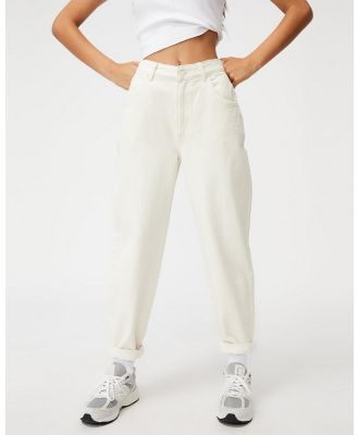 Factorie - Slouchy Jeans - Relaxed Jeans (Ecru) Slouchy Jeans