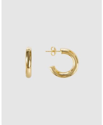 FAIRLEY - Basic Gold Hoops - Jewellery (Gold) Basic Gold Hoops