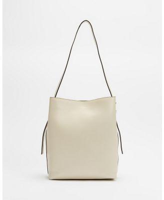 Fall The Label - Hobo Bag - Handbags (Ivory) Hobo Bag
