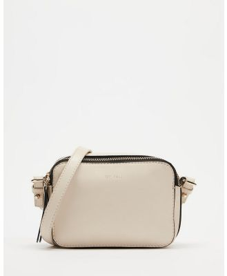 Fall The Label - Poppy Leather Camera Bag - Bags (Ivory) Poppy Leather Camera Bag