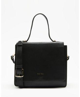Fall The Label - Square Grip Box Bag - Handbags (Black) Square Grip Box Bag