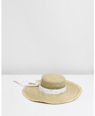 Fallen Broken Street - The Sunshine Straw Hat - Hats (Natural) The Sunshine Straw Hat