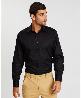 Farage - Jax French Shirt - Shirts & Polos (Black) Jax French Shirt