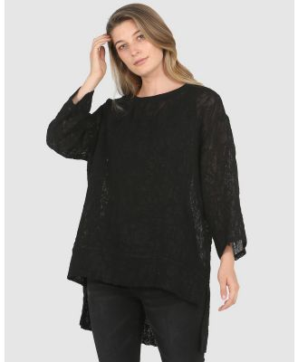 Faye Black Label - Alison Top - Tops (Black) Alison Top