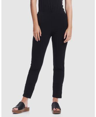 Faye Black Label - Slim Leg 7 8th Pants - Pants (Black) Slim Leg 7-8th Pants
