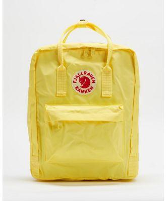 Fjallraven - Kanken Backpack - Backpacks (Corn) Kanken Backpack
