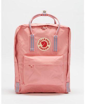 Fjallraven - Kanken Backpack - Backpacks (Pink & Long Stripes) Kanken Backpack