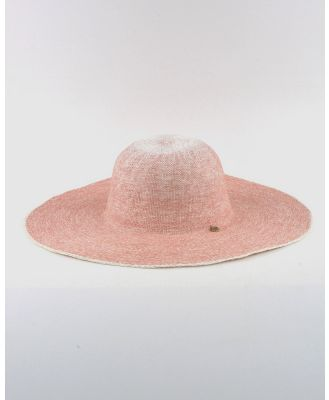Ford Millinery - Mingo Wide Brim - Hats (Pink) Mingo Wide Brim