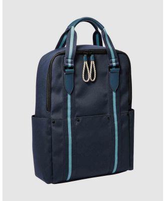 Fossil - Houston Blue Backpack - Backpacks (Blue) Houston Blue Backpack
