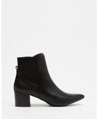 Freelance Shoes - Rome - Boots (Black Smooth) Rome