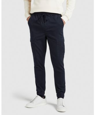 French Connection - Cargo Casual Pant - Pants (MARINE BLUE) Cargo Casual Pant