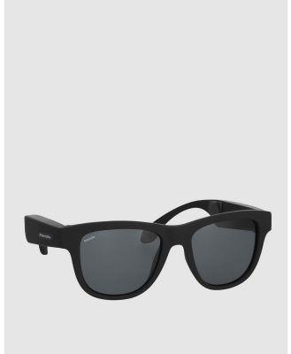 Friendie - Frames Classic Audio Sunglasses - Tech Accessories (Stealth Black) Frames Classic Audio Sunglasses