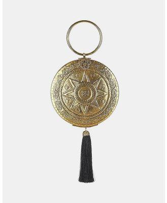 From St Xavier - Celestial Tassel Bag - Clutches (Gold & Black) Celestial Tassel Bag