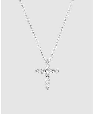 Georgini - Rock Star Cross Silver Pendant - Jewellery (Silver) Rock Star Cross Silver Pendant
