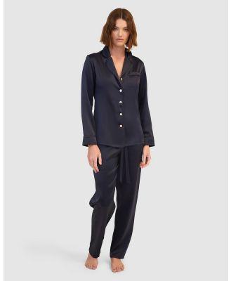 GINIA - Fine Finishes Pyjama - All gift sets (Evening Blue) Fine Finishes Pyjama