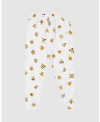 Goldie + Ace - Sunshine Leggings   Babies Kids - Pants (Milk) Sunshine Leggings - Babies-Kids
