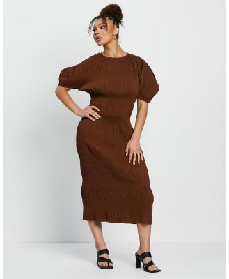 Grace Willow - Charlotte Dress - Dresses (Chocolate) Charlotte Dress