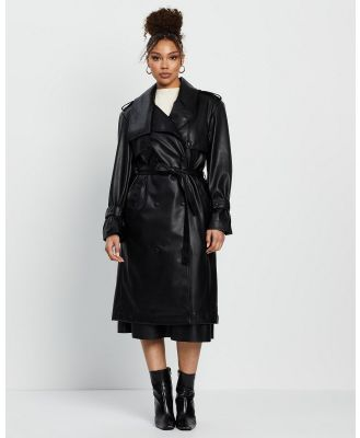 Grace Willow - Ellery Trench - Trench Coats (Black) Ellery Trench