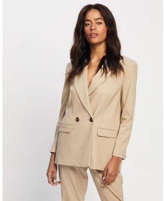 Grace Willow - Jordan Jacket - Coats & Jackets (Tan) Jordan Jacket