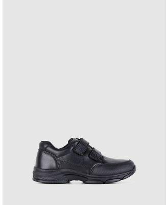 Harrison - Harlem School Shoes - Flats (Black E+) Harlem School Shoes