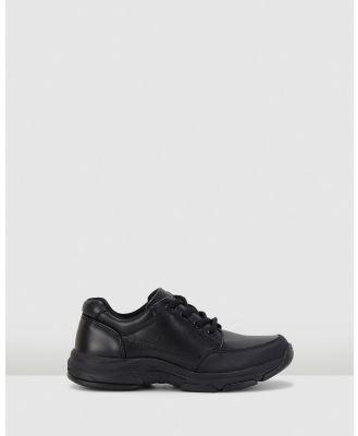 Harrison - Haze School Shoes - Flats (Black) Haze School Shoes