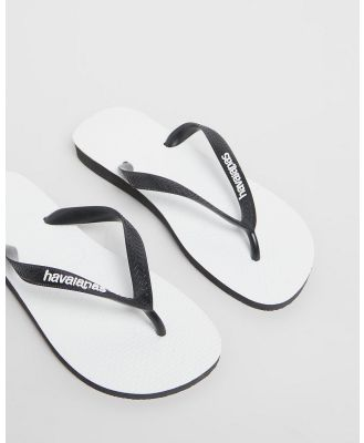 Havaianas - Original   Men's - All thongs (Black & White) Original - Men's