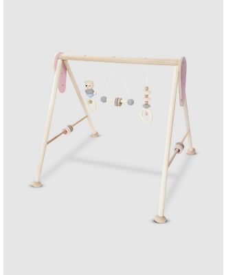 Hess Spielzeug - Baby Play Gym - Play Gyms (Natural Pink) Baby Play Gym