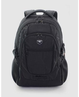 High Sierra - Harvard Laptop Backpack - Backpacks (Black) Harvard Laptop Backpack