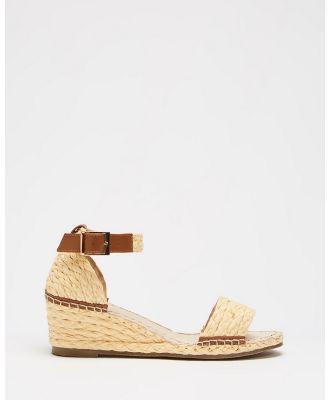 Human Premium - Rutherglen Wedge Sandals - Wedges (Natural) Rutherglen Wedge Sandals