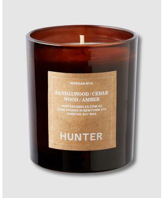 Hunter Candles - Morgan Candle - Candles (Amber) Morgan Candle