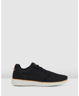 Hush Puppies - The Good Laceup M - Sneakers (Black Textile) The Good Laceup M