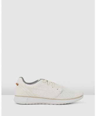 Hush Puppies - The Good Laceup M - Sneakers (Light Stone Textile) The Good Laceup M