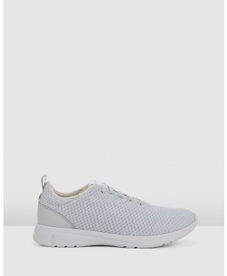 Hush Puppies - The Good Laceup W - Sneakers (Vapor Grey Textile) The Good Laceup W