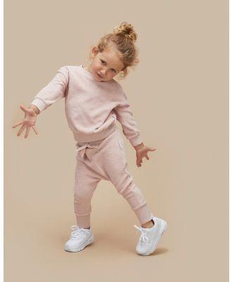 Huxbaby - Rose Terry Play Pants   Babies Kids - Sweatpants (Rose) Rose Terry Play Pants - Babies-Kids