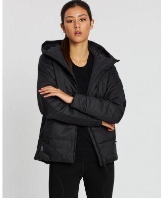 Icebreaker - Collingwood Hooded Jacket - Coats & Jackets (Black) Collingwood Hooded Jacket