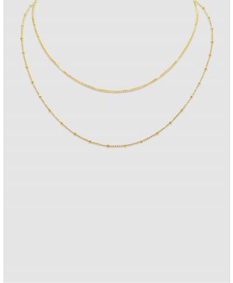 Ichu - Layers Necklace, Gold - Jewellery (Gold Plated) Layers Necklace, Gold