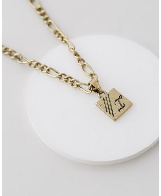 Icon Brand - Figaro Chain Necklace - Jewellery (Gold) Figaro Chain Necklace