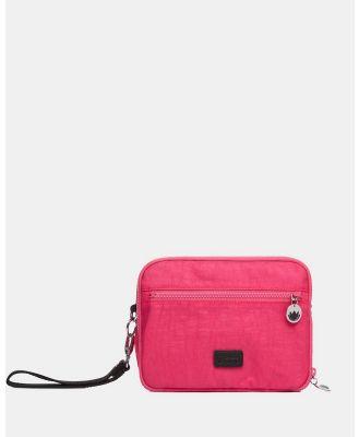 Il Tutto - Milo All in one Nappy Changer Pouch - Bags (Pink) Milo All-in-one Nappy Changer Pouch