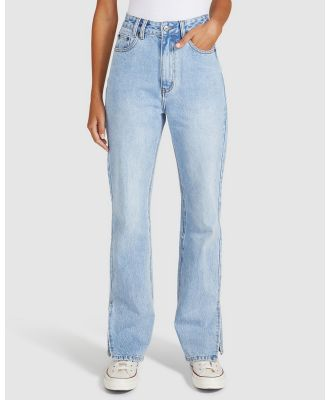 Insight - Britney Bootleg Slit Jeans - Jeans (DENIM) Britney Bootleg Slit Jeans