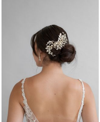 Ivory Knot - Serena Hair Comb - Hair Accessories (Gold) Serena Hair Comb