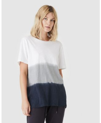 Jac & Mooki - Frankie Tee - T-Shirts & Singlets (vintage sage dip dye) Frankie Tee