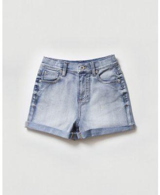jac & mooki jnr - Shorts - Denim (vintage wash) Shorts